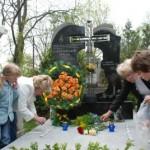 Освячення пам`ятника родині Смеречанських
